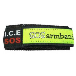 ICE SOS bracelet blue camouflage small