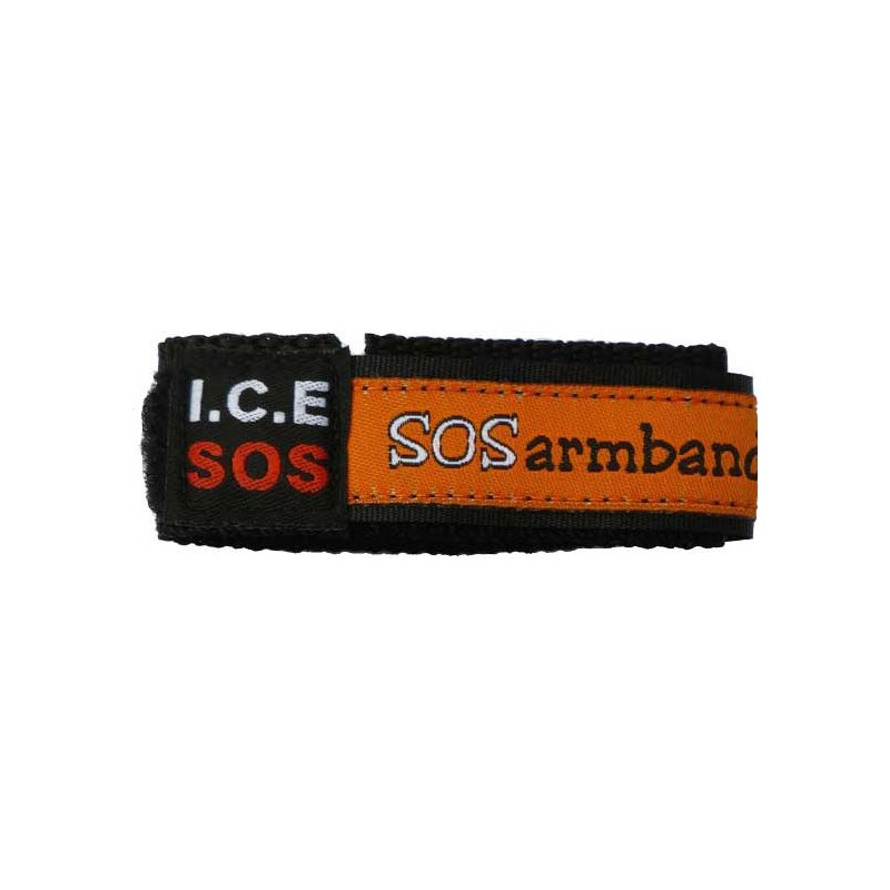 ICE armband oranje small  - 8