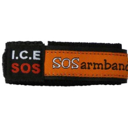 ID armband oranje medium  - 8