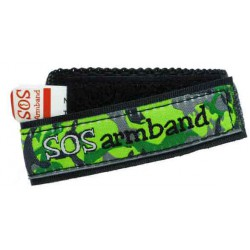 ICE SOS armband groen camo medium  - 5