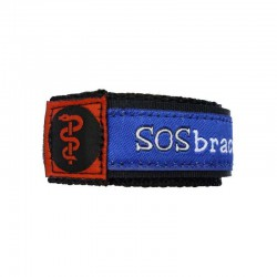 SOS armband medisch blauw camouflage small  - 2