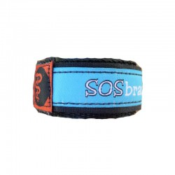 SOS armband medisch blauw camouflage small  - 5