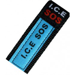 ICE SOS wristband green camo small