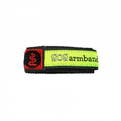 SOS armband medisch rood large  - 4