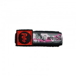 SOS armband medisch rood large  - 7