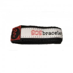SOS armband medisch rood large  - 8